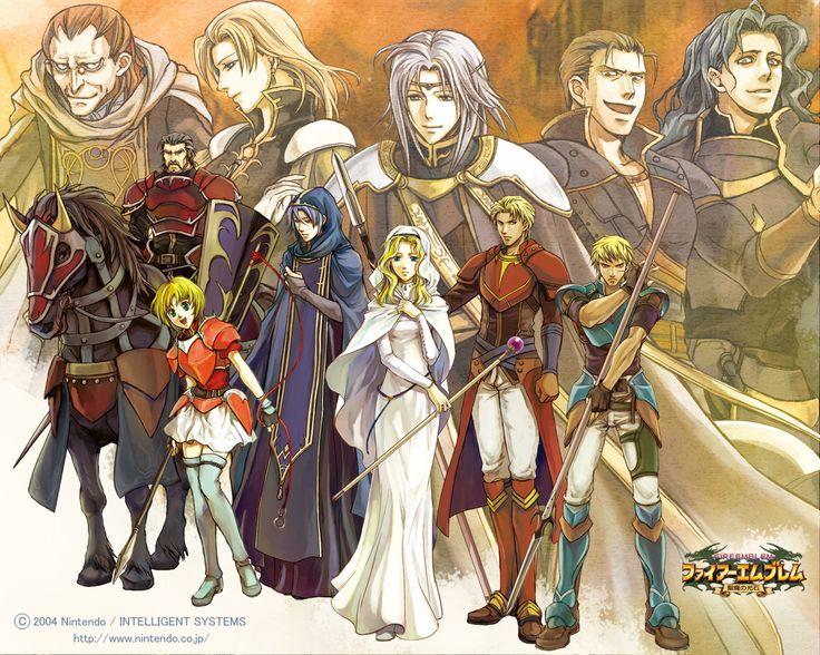 Fire Emblem : Sacred Stones GBA 2004