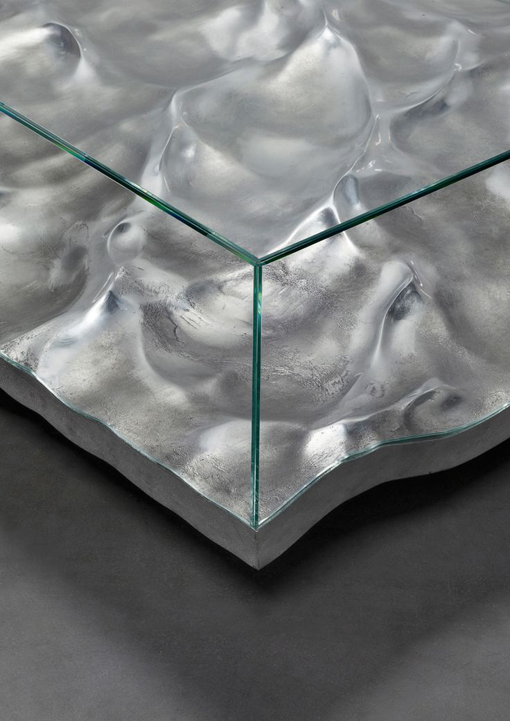 mathieu lehanneur liquid marble aluminium tables carpenters workshop gallery…