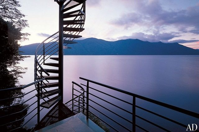 "Fantastic staircases featured in ""Architectural Digest"""
