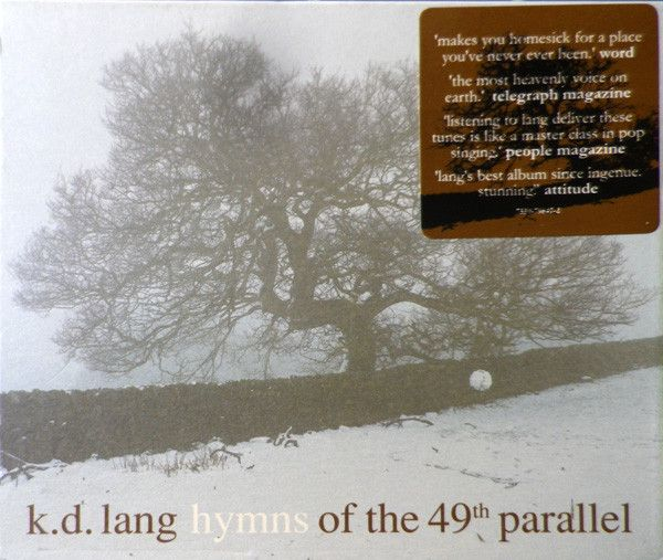 k.d. lang : Hymns Of The 49th Parallel LP