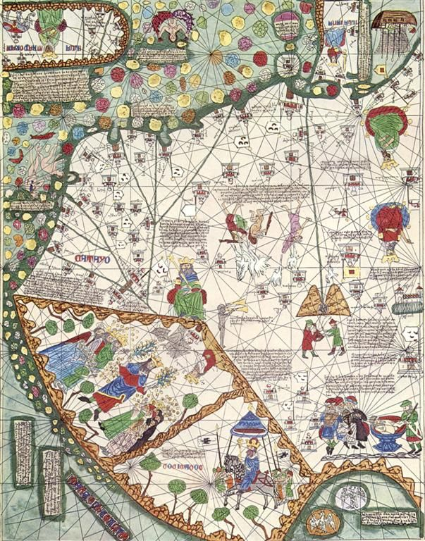 Catalan Atlas   Lately, I've been thinking about the term 'global' in relation to the Middle Ages. It is nothing new within the st...