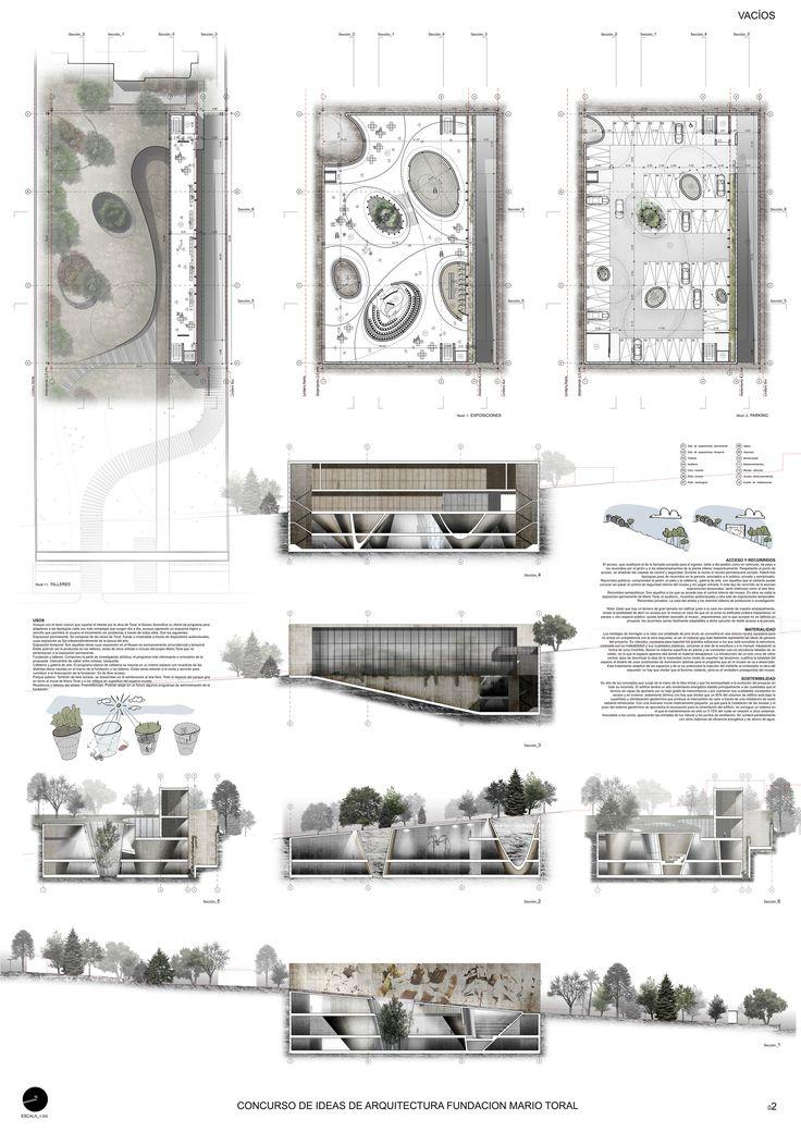 Mención Honrosa Concurso de Ideas Museo Mario Toral,Lámina 02