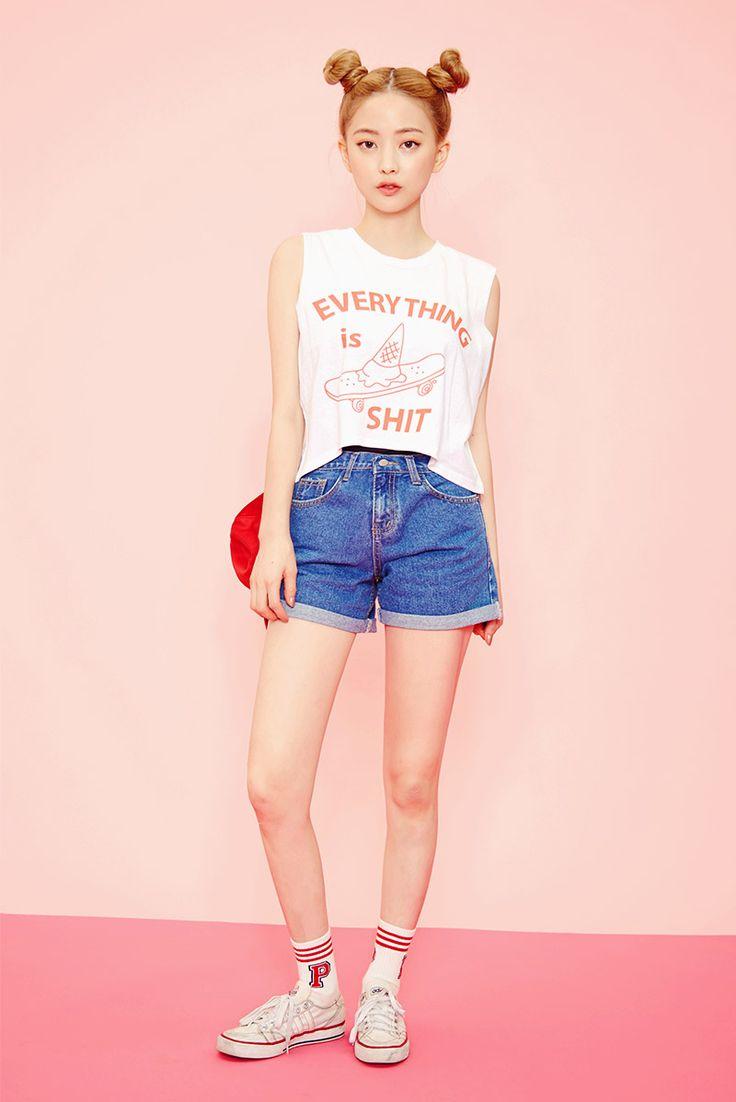 Icecream12 Mt Daily2016 Imbora K Daily Style Pinterest Korean Fashion Korean And