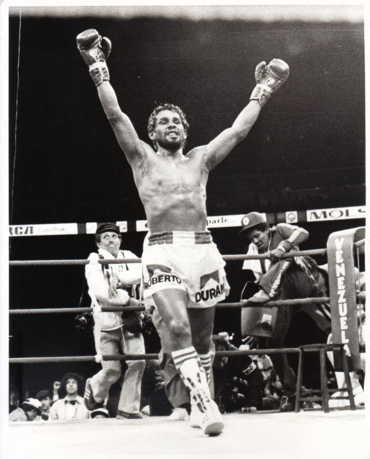 Hands of Stone, Roberto Duran. Pure ring animal. Probably felt more comfy in a ring than in his bath tub...