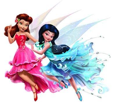 Disney Fairies Rosetta & Silvermist