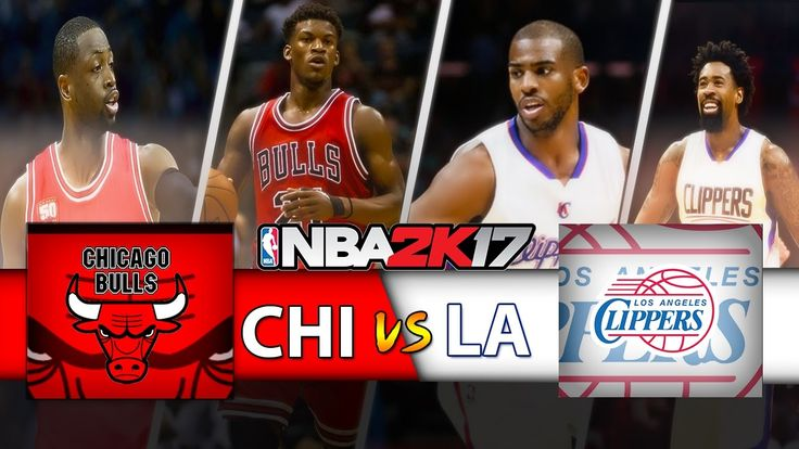 Chicago Bulls vs LA Clippers|One Side Show|NBA Matchday Simulation|NBA2K17