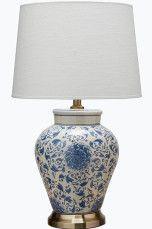 PR Home Fang Hong -pöytävalaisin Tummansininen, Harmaa, Valkoinen/sininen - Pöytävalaisimet | Ellos Mobile