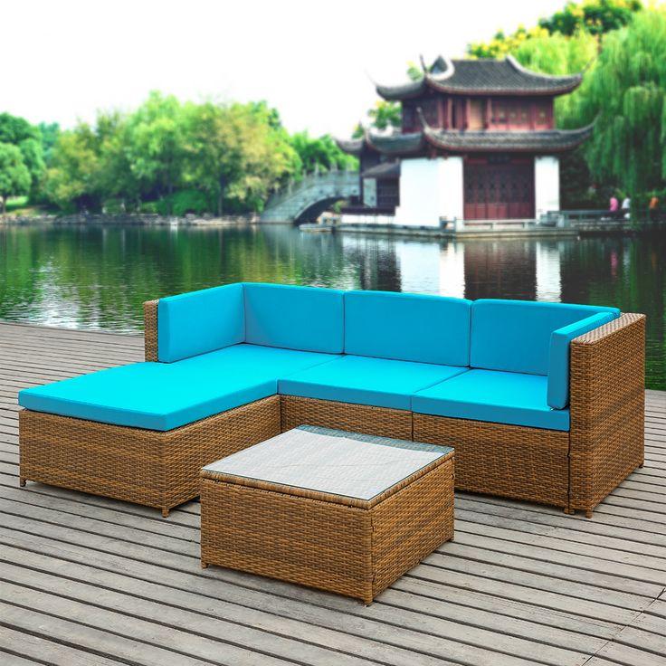 Lux Outdoor Furniture Sofa Set Garden Corner Sofa Sale