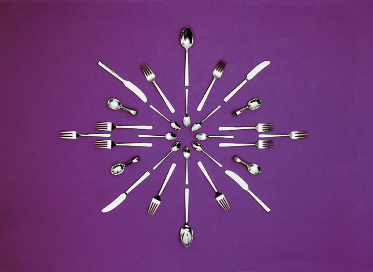 Kay Bojesen's Grand Prix cutlery, crafted in 1938  Kay Bojesen Grand Prix cutlery/flatware