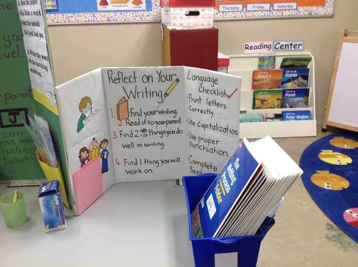 Writing Center for Student Led Conferences