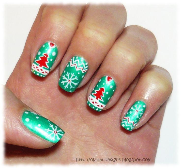 Cristmas nail art