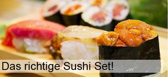 Das richtige Sushi Set – was soll ich kaufen?