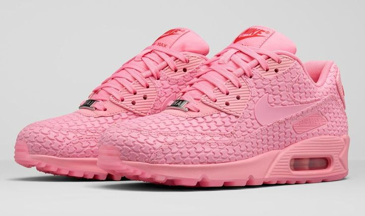Womens Nike Air Max 90 Hyperfuse Independence Day Hot Peach