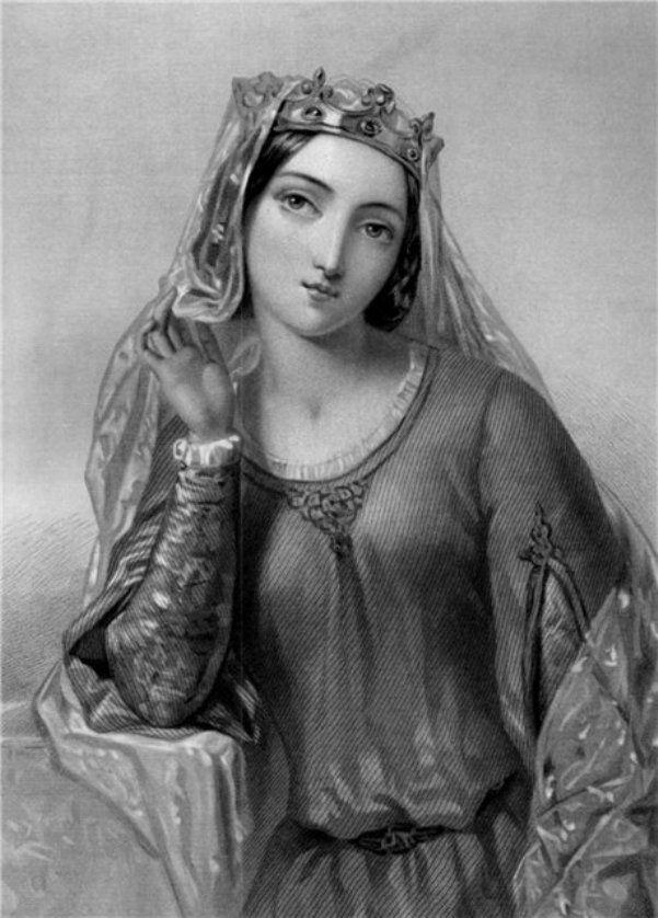 Удивительные женщины в живописи.  Элеонора Аквитанская