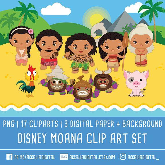 20% de descuento Disney clipart de moana princesa moana cli
