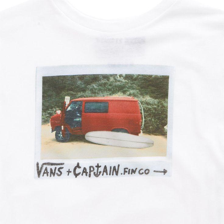 Boys Vans x Captain Fin Van Onfre Tee [XOGWHT] - $18.00 : Vans Shop, Vans Shop in California