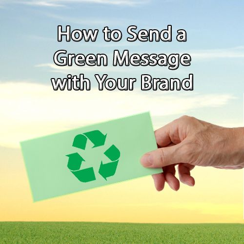 Making an appearance at the next trade show? Now that the public is becoming more environmentally conscious, it helps to get involved! Here are some tips on how you can send a green message to your customers. http://blog.shoplet.com/sales-tips/promos-how-to-send-a-green-message-with-your-brand/