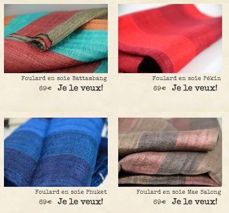 17 meilleures images propos de foulard soie sauvage sur pinterest pi ces de monnaie luang. Black Bedroom Furniture Sets. Home Design Ideas