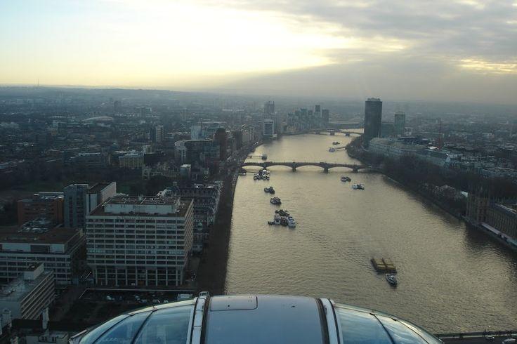 Φαντάστική Θέα από το London Eye