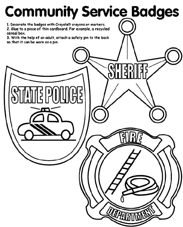 141 best coloring pages images on pinterest | adult coloring ... - Firefighter Badges Coloring Pages