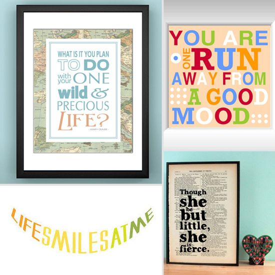 Wise Words: 35 Perfect Prints For an Inspiring Gift