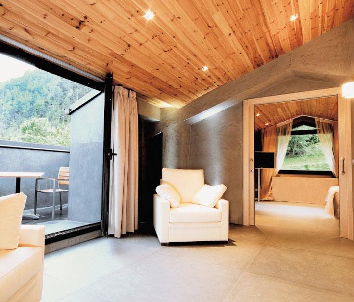 Hotel Palomé, situado en La Massana, Principado de Andorra. Lujo entre montañas.     #hoteles #andorra #lujo