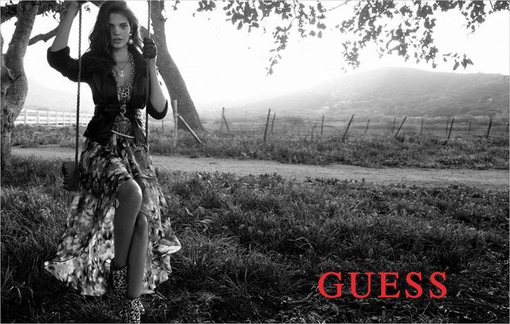 Beautiful local ABQ Gal modeling in GUESS - Love GUESS!