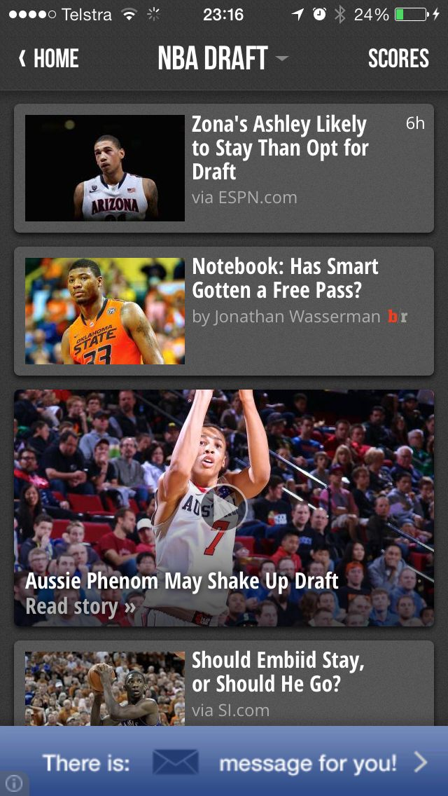 Our work with US Sports website #BleacherReport, covering Australian #basketball young-gun #DanteExum. #Filming for a week in #Melbourne - went live, so of course we admired it online!