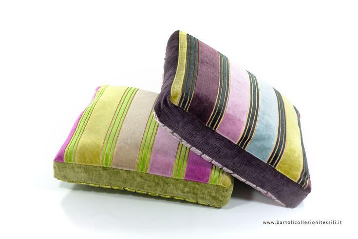 Designers Guild stripes pillows textile #home #decor