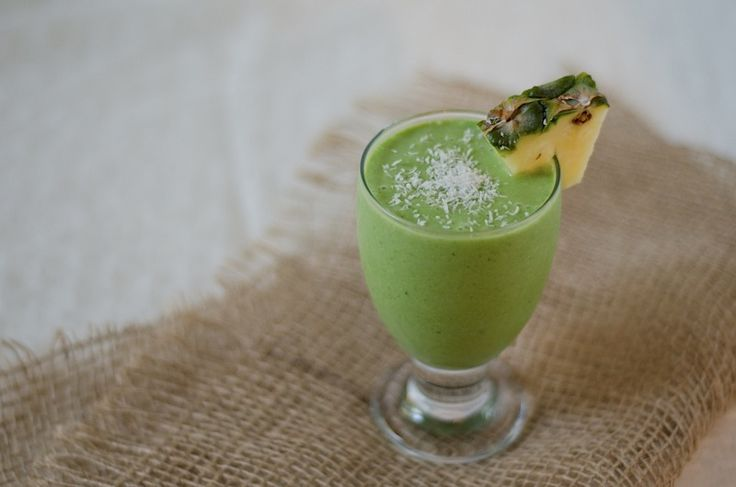 PinaColada Green Monster Smoothie
