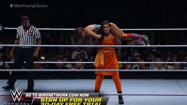 Watch Kurti-clad Indian Kavita Devi owns her opponent at WWE event like a boss - Daily News & Analysis #757Live