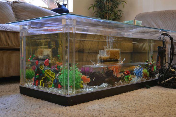 Aquarium Coffee Table DIY