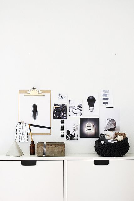 Monochrome office perfection