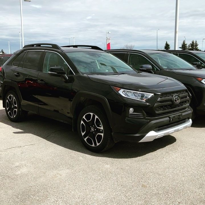 My Favourite Rav4 2019 Model Trail Looks Great In Black With