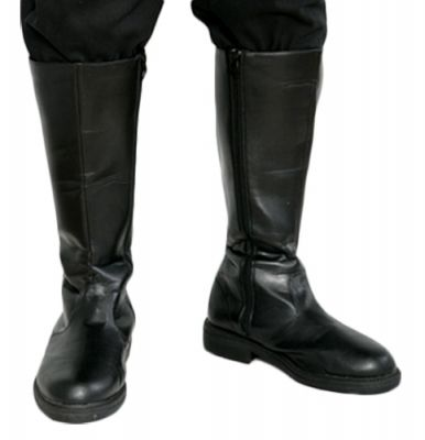 Star Wars Jedi Boots in Colour Black - also perfect for Han Solo and X-Wing costumes