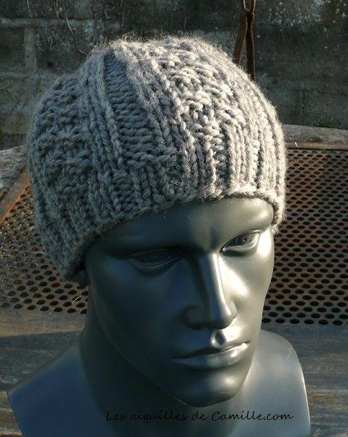 Bonnet facile Thil 1 (aig) -  tricotepastout