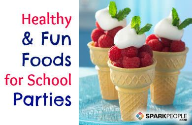Next time your child has a birthday, send her off to school with a healthier snack to share. Here are 17 kid and mom-approved food ideas that make healthy eating fun!