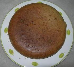 米ぬか&おからケーキ❤抹茶ラテ風味❤