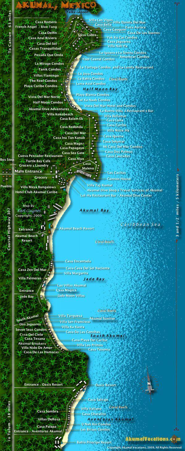 Download ePub PDF eBook » map akumal