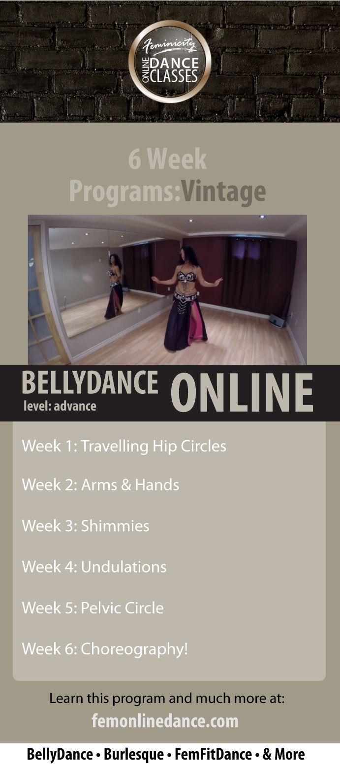 Belly Dance Online: Vintage Program (Advance) http://femonlinedance.com