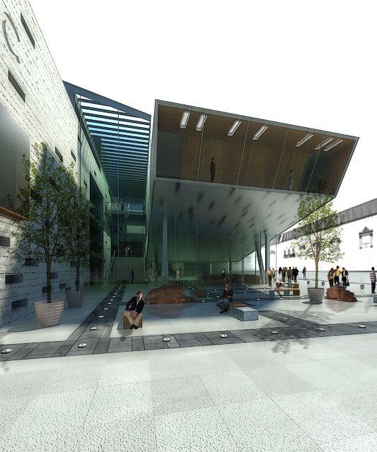 sampaolesi.segovia arquitectos: Concurso Nacional Centro Cultural UNC - Córdoba