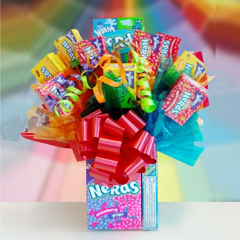 11 best Gifts: Candy Bouquets images on Pinterest | Candy bouquet ...