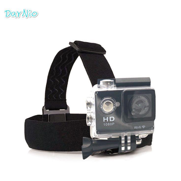 2016 Head Strap gopro Action sj cam Camera Gopro Hero 4 Go Pro sport cameras 3 Xiaomi Yi SJCAM SJ4000/SJ5000/SJ6000 Accessories