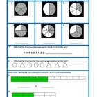 This fraction test covers identifying fractions, comparing fractions,  fractions in a set, and fractions in a number line....