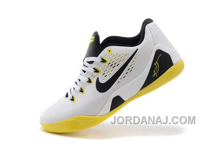 http://www.jordanaj.com/online-sale-nike-kobe-9-low-em-white-black-yellow-for-mens-top-deals.html ONLINE SALE NIKE KOBE 9 LOW EM WHITE BLACK YELLOW FOR MENS AUTHENTIC Only 84.07€ , Free Shipping!
