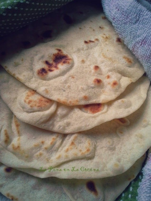 In Recipe Box - Homemade Flour Tortillas | Hispanic Kitchen - PERFECT!  Still soften up quickly in a warm skillet, even after 3 days in the fridge!