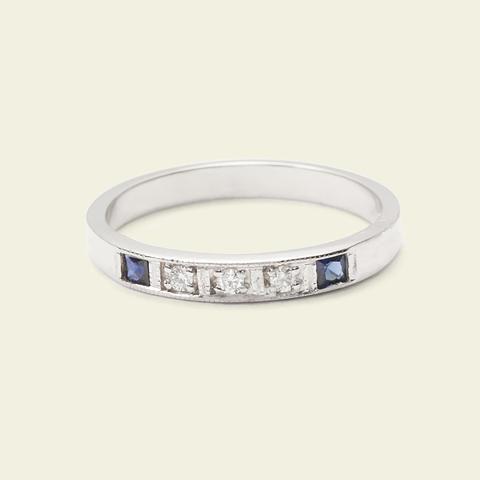 Esther Ring (14k White Gold) | Erica Weiner