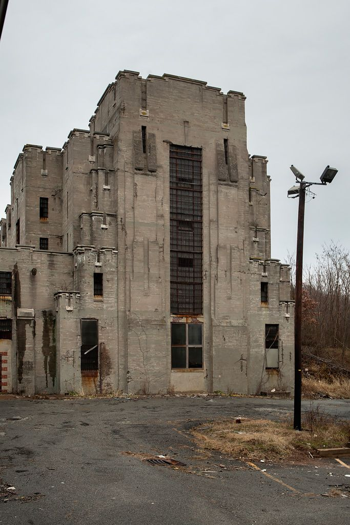Essex County Penitentiary - abandoned in Caldwell, NJ. Built in 1827, closed in 1989. It was placed on the National Register of Historic Places in 1991 however no efforts have been made to preserve it.