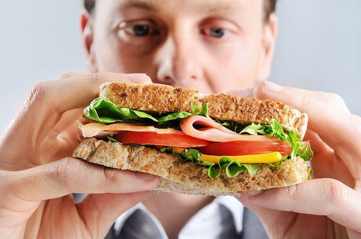 äta smörgås