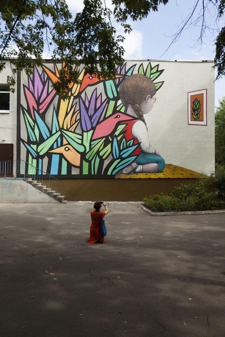 Graffiti wall uae - Fatma Al Ali For Ajman Murals In Uae